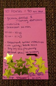 ADHD Facts | DIY Reward Chart